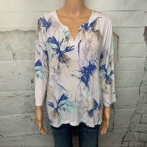Chico's 3/4 Sleeves Top